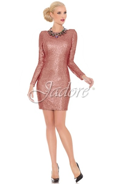 JADORE Sequin Cocktail Rose
